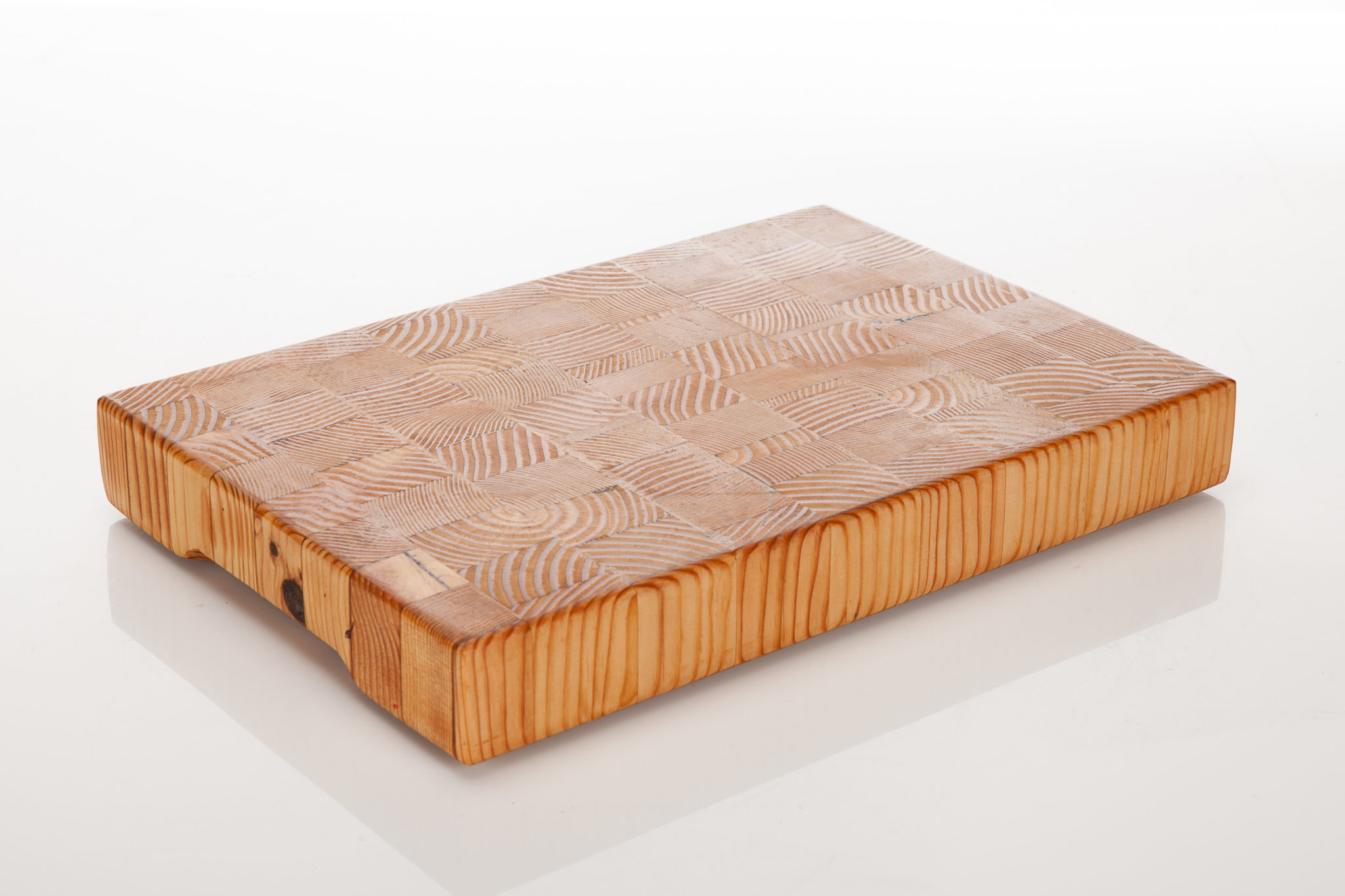 Butcher block board